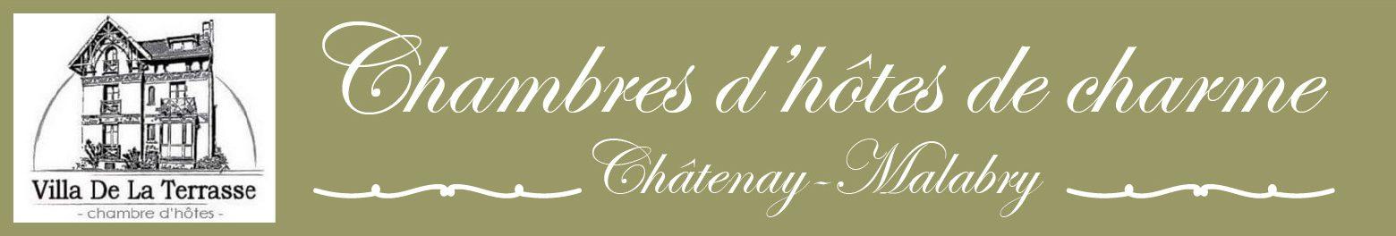 Chambre d'hôtes VILLA DE LA TERRASSE Châtenay-Malabry Bandeau